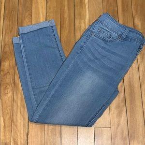 Wax Jean Butt I Love You Push-up Capri Size 11
